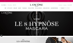 Lancome Canadaウェブサイトサムネイル