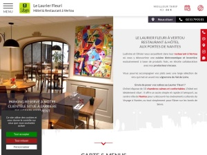 Hôtel Restaurant Gastronomique à Nantes