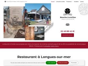 Restaurant Le Bouche à Oreilles : vente de plats régionaux sur place ou à emporter