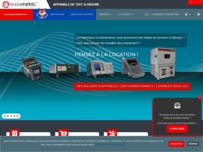 Leasametric, l'entreprise de référence dans le domaine des appareils de mesure en France