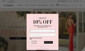 Le Chateauウェブサイトサムネイル