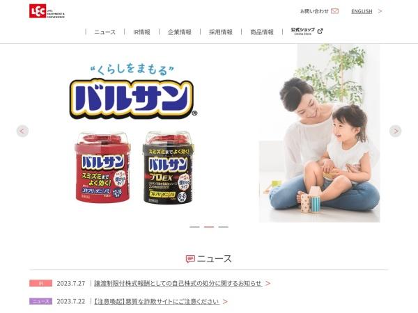 Screenshot of www.lecinc.co.jp
