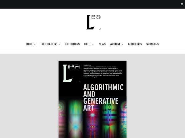 Screenshot of www.leoalmanac.org