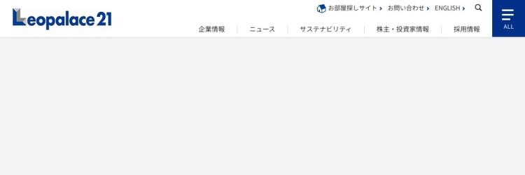 Screenshot of www.leopalace21.co.jp