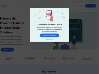 Screenshot of www.loop11.com