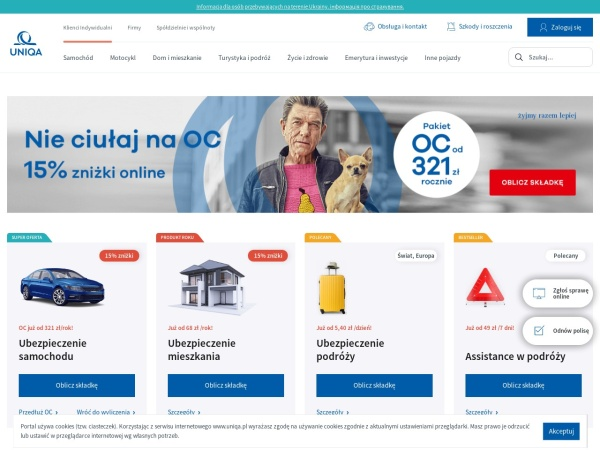 Screenshot of www.lu.pl