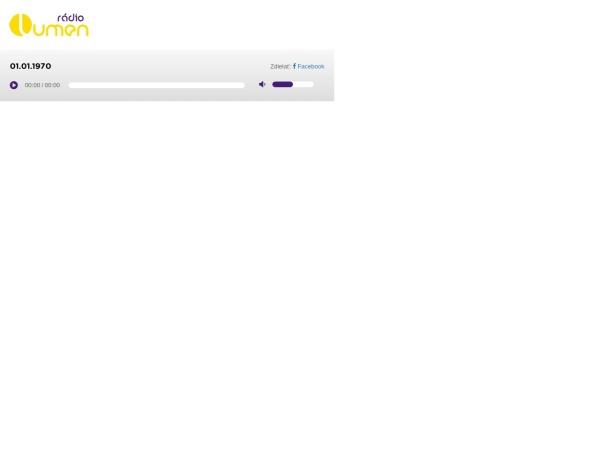 Screenshot of www.lumen.sk