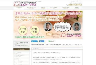 Screenshot of www.m2-plus.net