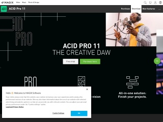 ACID Pro 8 – The creative DAW for loop-based music production