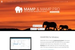 Screenshot of www.mamp.info