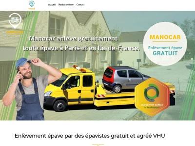Manocar, votre entreprise spécialisée en enlèvement gratuit d'automobile et rachat de voiture à Paris