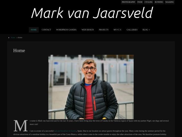 Screenshot of www.markvanjaarsveld.com