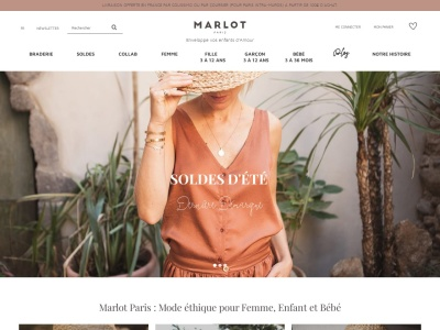 Marlot Paris, une marque de vêtements éthiques française pour femme, enfant et bébé