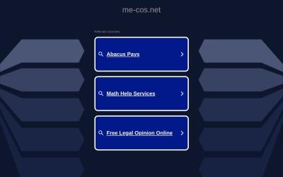 Screenshot of www.me-cos.net