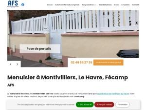 L'entreprise de menuiserie AFS, pour tous vos travaux d'installations et de rénovations de fenêtres et de portes, au Havre