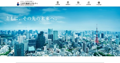 Screenshot of www.mf-realty.jp