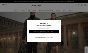 Michael Korsウェブサイトサムネイル
