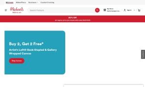 Michaelsウェブサイトサムネイル