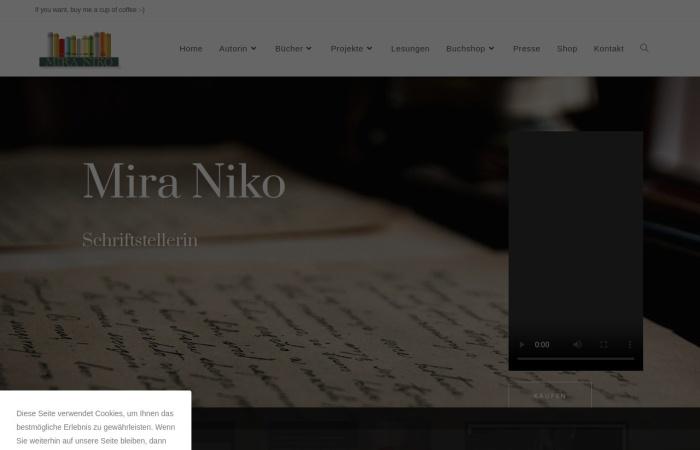 Screenshot of www.mira-niko.com