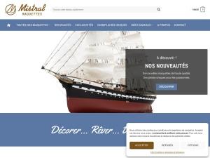 Maquettes de bateaux en bois déjà montés de façon artisanale 100% à la main – Mistral Maquettes