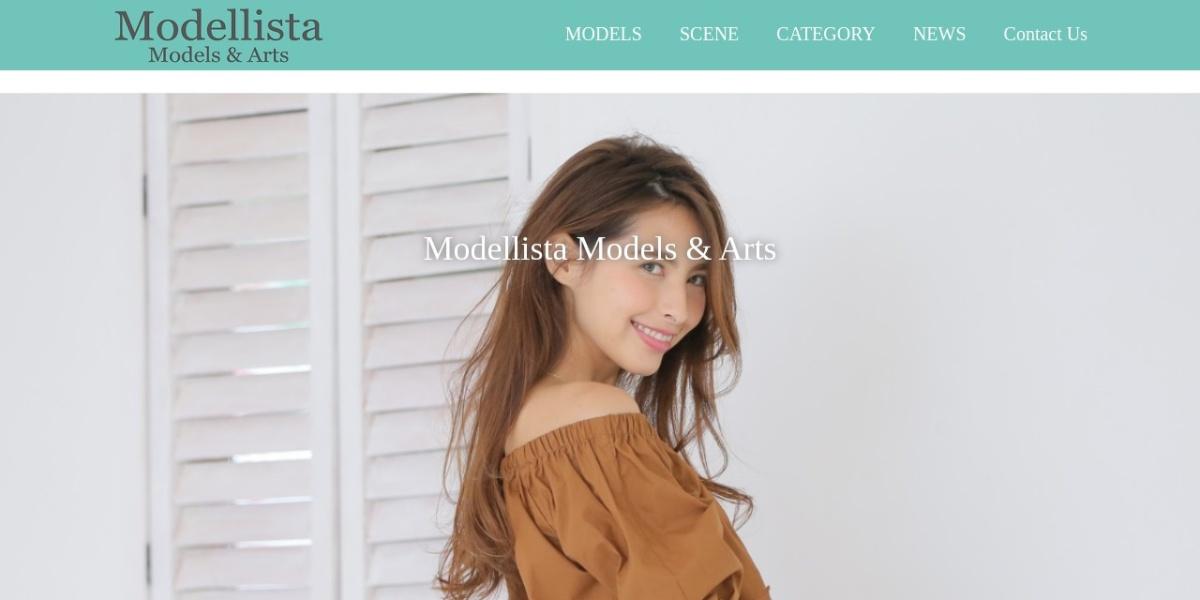 Screenshot of www.modellista-jpn.com