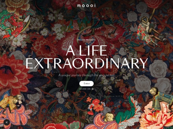 Screenshot of www.moooi.com