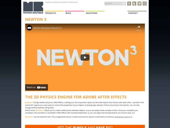 https://www.motionboutique.com/newton/