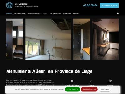 MS Para Design, l'artisan-menuisier spécialiste des travaux pour embellir un intérieur