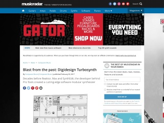 Blast from the past: Digidesign Turbosynth | MusicRadar