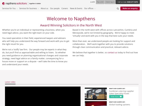 https://www.napthens.co.uk