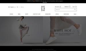 Naturalizerウェブサイトサムネイル