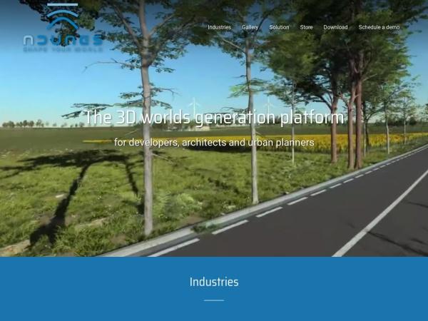 Screenshot of www.ndunes.com