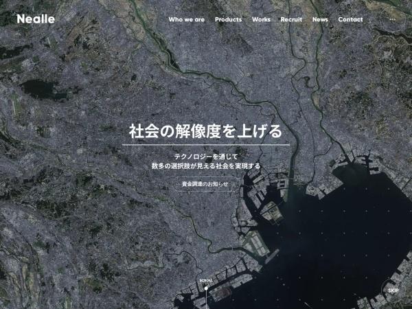 Screenshot of www.nealle.com