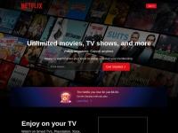 Netflixの公式サイト