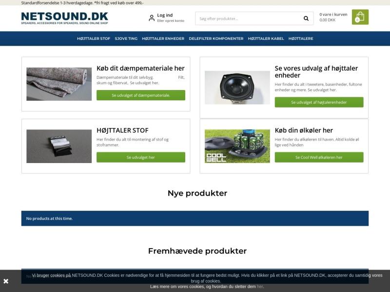 Netsound rabatkode