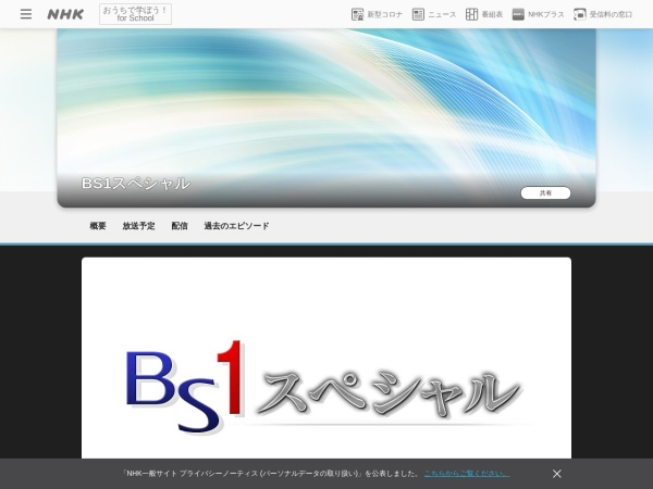 Screenshot of www.nhk.jp