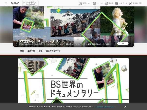 Screenshot of www.nhk.jp