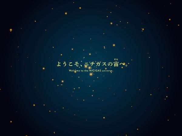 Screenshot of www.nichigas.co.jp