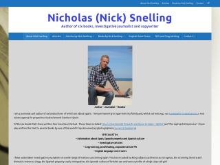 Screenshot of www.nicholassnelling.com
