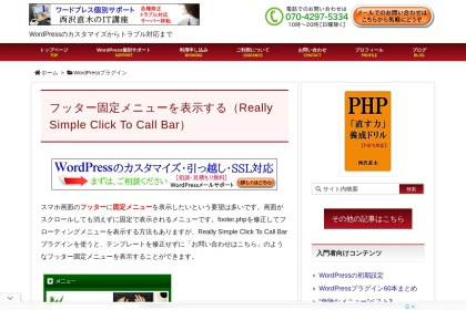 Screenshot of www.nishi2002.com