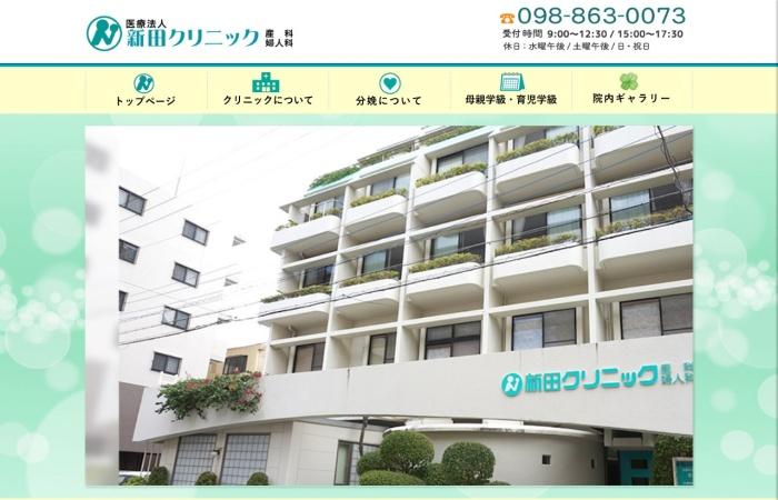 Screenshot of www.nitta-clinic.jp
