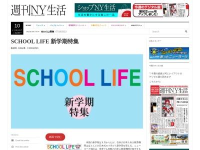 Screenshot of www.nyseikatsu.com