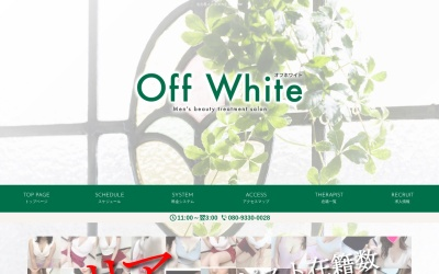 Screenshot of www.offwhite758.com