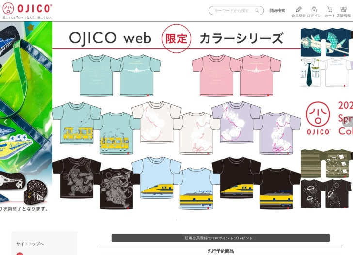 Screenshot of www.ojico.net