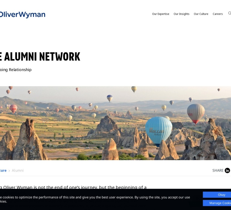 Screenshot of www.oliverwyman.com