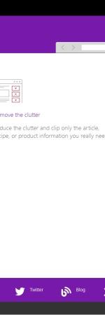 Screenshot of www.onenote.com