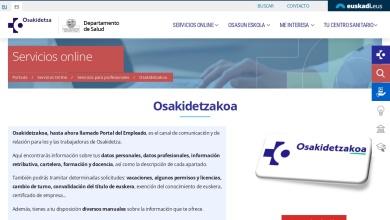 Osakidetzakoa - Osakidetza - Euskadi.eus