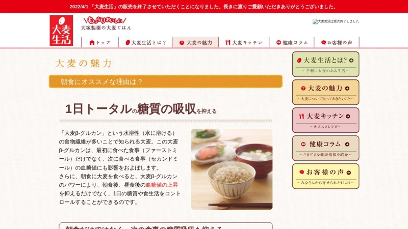 Screenshot of www.otsuka.co.jp