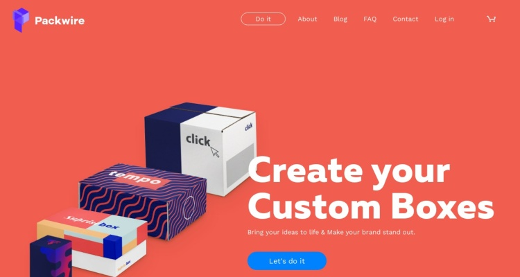 Design Custom Boxes & Packaging | Packwire