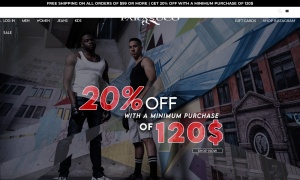 Parasuco Jeansウェブサイトサムネイル